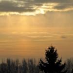 Wolken verfinstern die Finsternis am 4.1.11 (5)