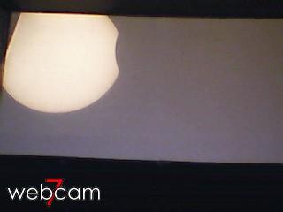 letztes webcam-Bild der Finsternis am 4.1.11