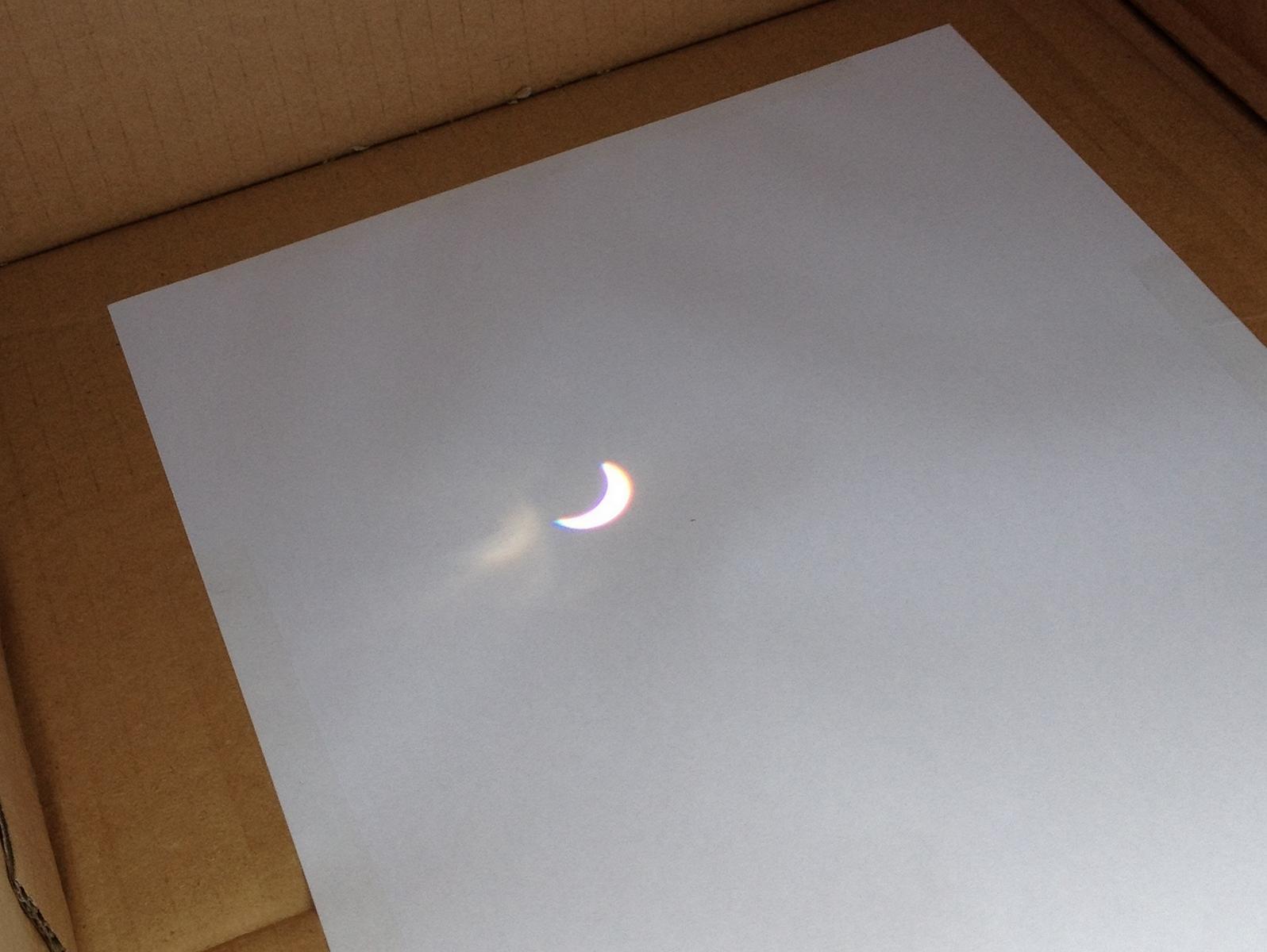 Sonnenfinsternis am 20.März 2015, 10:27 Uhr