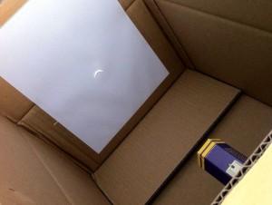 Sonnenfinsternis am 20.März 2015, gegen 10 Uhr