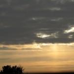 Wolken verfinstern die Finsternis am 4.1.11 (4)